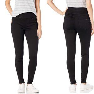 Seven7 High Rise Black Skinny Skin Fit Jeans (10)